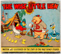 Books:General, The Wise Little Hen Hardcover Picture Book (Whitman, 1935) Condition: Book VG/FN, Dust Jacket Apparent GD/VG....