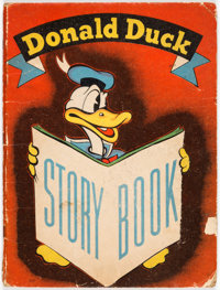 Donald Duck Story Book Hardcover (Whitman, 1937) Condition: FR/GD