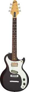 Musical Instruments:Electric Guitars, 1975 Gibson Marauder Maroon Solid Body Electric Guitar, Serial # 99134770.. ...