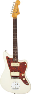 Musical Instruments:Electric Guitars, 1964 Fender Jazzmaster White Solid Body Electric Guitar, Serial # L24821....