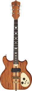Musical Instruments:Electric Guitars, 1981 Alembic Natural Solid Body Electric Guitar, Serial # 81 0161 USA.. ...