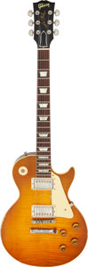 Musical Instruments:Electric Guitars, 2016 Gibson Collectors Choice Ace Frehley Aged Les Paul Standard Sunburst Solid Body Electric Guitar, Serial #AF 132.. ...