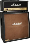 Musical Instruments:Amplifiers, PA, & Effects, 2003 Marshall JCM 2000 Half-Stack Guitar Amplifier, Serial # M-2003-40-0655-B/26214. ... (Total: 2 Items)
