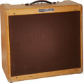 Musical Instruments:Amplifiers, PA, & Effects, 1956 Fender Pro-Amp Tweed Guitar Amplifier, Serial # S00850.. ...