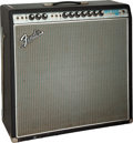 Musical Instruments:Amplifiers, PA, & Effects, 1968 Fender Super Reverb Black Guitar Amplifier, Serial #A28029.. ...