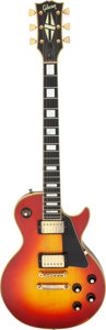 Musical Instruments:Electric Guitars, 1974 Gibson Les Paul Custom Cherry Sunburst Solid Body Electric Guitar, Serial #630002.. ...