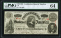 Confederate Notes:1863 Issues, T56 $100 1863 PF-1 Cr. 403 PMG Choice Uncirculated 64....
