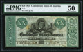 Confederate Notes:1861 Issues, T21 $20 1861 PF-6 Cr. 146 PMG About Uncirculated 50.. ...