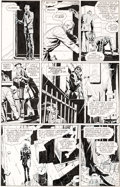 Original Comic Art:Panel Pages, Dave Gibbons Watchmen #5 Story Page 6 Rorschach Original Art and Color Guide (DC, 1987).... (Total: 2 Original Art)