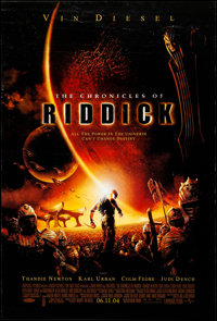 """The Chronicles of Riddick & Other Lot (Universal, 2004). Rolled, Overall: Very Fine. One Sheets (4) (27"""" X..."""