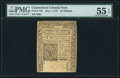 Colonial Notes:Connecticut, Connecticut July 1, 1775 40s PMG About Uncirculated 55 EPQ.. ...