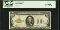 Fr. 2405 $100 1928 Gold Certificate. PCGS About New 53PPQ