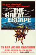 "Movie Posters:War, The Great Escape (United Artists, 1963). Folded, Very Fine/Near Mint. One Sheet (27"" X 41""). Frank McCarthy Artwork.. ..."