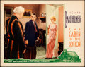 """Movie Posters:Drama, The Cabin in the Cotton (Warner Bros., 1932). Very Fine. Lobby Card (11"""" X 14"""").. ..."""