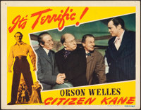 "Citizen Kane (RKO, 1941). Very Fine-. Lobby Card (11"" X 14"")"