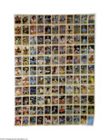 Baseball Collectibles:Others, 1981 Donruss Baseball Uncut Sheet Lot of 5....
