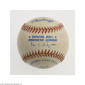 Autographs:Baseballs, Reggie Jackson Single Signed Baseball....