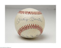 Autographs:Baseballs, Mickey Mantle & Duke Snider Signed Baseball....