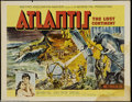 Movie Posters:Adventure, Atlantis, the Lost Continent (MGM, 1961)....