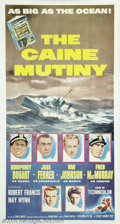 Movie Posters:War, Caine Mutiny (Columbia, 1954)....