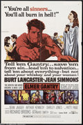Movie Posters:Drama, Elmer Gantry (United Artists, 1960)....
