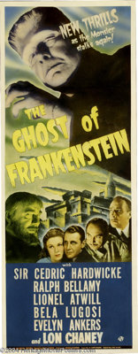 Ghost of Frankenstein (Universal, 1942)