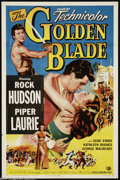 Movie Posters:Adventure, The Golden Blade (Universal, 1953)....