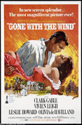 Movie Posters:Academy Award Winner, Gone With the Wind (MGM, R-1968)....