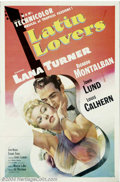 Movie Posters:Comedy, Latin Lovers (MGM, 1953)....