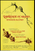 Movie Posters:Academy Award Winner, Lawrence of Arabia (Columbia, R-1971)....