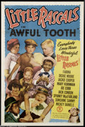 """Movie Posters:Comedy, Little Rascals """"The Awful Tooth"""" (Monogram, 1951)...."""