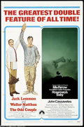 Movie Posters:Comedy, The Odd Couple (Paramount, 1968) and Rosemary's Baby (....