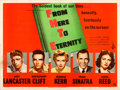 """Movie Posters:Academy Award Winners, From Here to Eternity (Columbia, 1953). Fine/Very Fine on Linen. British Quad (30"""" X 40""""). Academy Award Winners.. ..."""