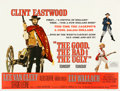 """Movie Posters:Western, The Good, the Bad and the Ugly (United Artists, 1968). Very Fine+ on Linen. British Quad (30"""" X 40""""). . ..."""