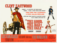 "The Good, the Bad and the Ugly (United Artists, 1968). Very Fine+ on Linen. British Quad (30"" X 40"")"