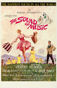 "The Sound of Music (20th Century Fox, 1965). Very Fine+ on Linen. One Sheet (27"" X 41.5"") Todd-AO Roadshow Sty..."