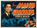 "Movie Posters:Mystery, Charade (Monarch, 1954). Folded, Very Fine. British Quad (30"" X 40"").. ..."