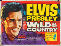 """Movie Posters:Elvis Presley, Wild in the Country (20th Century Fox, 1961). Folded, Fine+. British Quad (30"""" X 40"""") Tom Chantrell Artwork.. ..."""