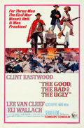 """Movie Posters:Western, The Good, the Bad and the Ugly (United Artists, 1968). Folded, Very Fine. One Sheet (27"""" X 41""""). David Blossom Artwor..."""