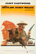 """Movie Posters:Western, The Outlaw Josey Wales (Warner Bros., 1976). Fine/Very Fine on Linen. Poster (40.5"""" X 60""""). Roy Anderson Artwork.. ..."""