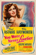 "Movie Posters:Musical, You Were Never Lovelier (Columbia, 1942). Fine- on Linen. One Sheet (27"" X 41"") Style B.. ..."