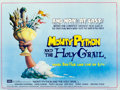 """Movie Posters:Comedy, Monty Python and the Holy Grail (EMI, 1975). Folded, Very Fine+. British Quad (30"""" X 40"""") Terry Gilliam Artwork.. ..."""