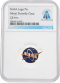 Explorers:Space Exploration, Apollo 11: NASA Logo Pin Directly From The Armstrong Family Collection™, CAG Certified. ...