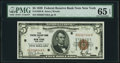 Small Size:Federal Reserve Bank Notes, Fr. 1850-B $5 1929 Federal Reserve Bank Note. PMG Gem Uncirculated 65 EPQ.. ...