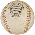 Autographs:Baseballs, 1974 American League All-Star Team Signed Baseball (21 Signatures)....