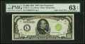 Small Size:Federal Reserve Notes, Fr. 2211-L $1,000 1934 Light Green Seal Federal Reserve No...