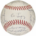 Autographs:Baseballs, 1963 Chicago White Sox Team Signed Baseball (30 Signatures)....