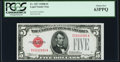 Small Size:Legal Tender Notes, Fr. 1527 $5 1928B Legal Tender Note. PCGS Choice New 63PPQ.. ...