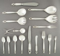 Silver Flatware, Continental, A One Hundred and Sixteen-Piece Georg Jensen Acorn Pattern Silver Partial Flatware Service for Twelve, Copenhage... (Total: 118 Items)