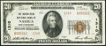 Nashua, NH - $20 1929 Ty. 2 The Indian Head National Bank Ch. # 1310 Very Fine-Extremely Fine.<